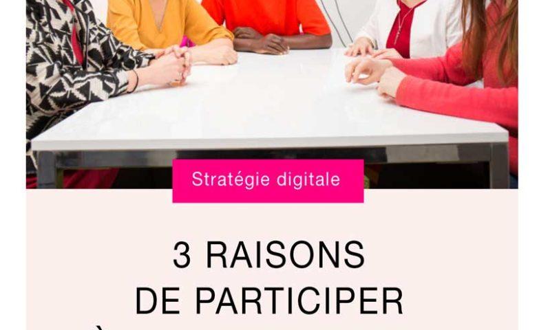 3 raisons de participer à la masterclass