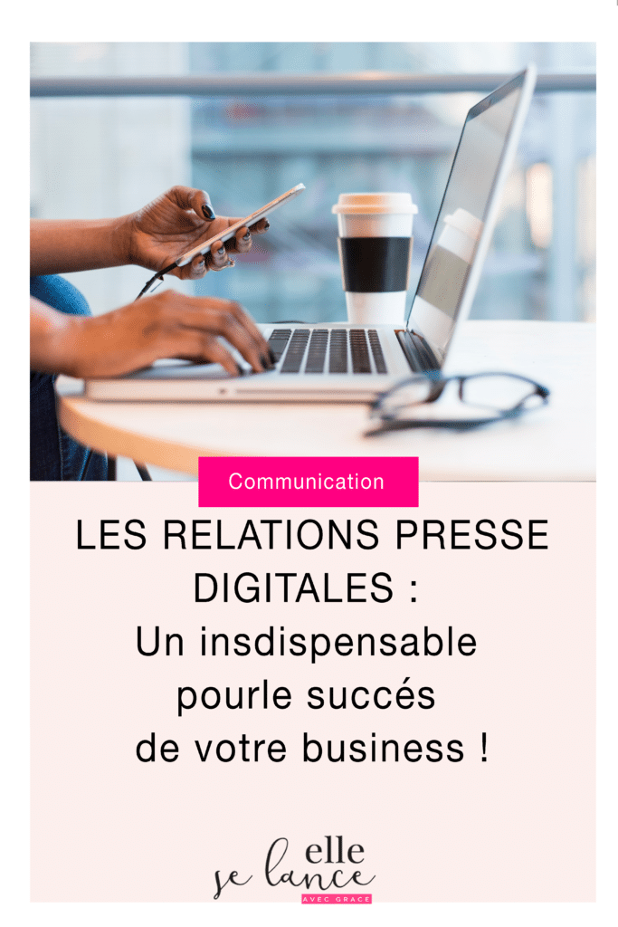Relations presse digitales